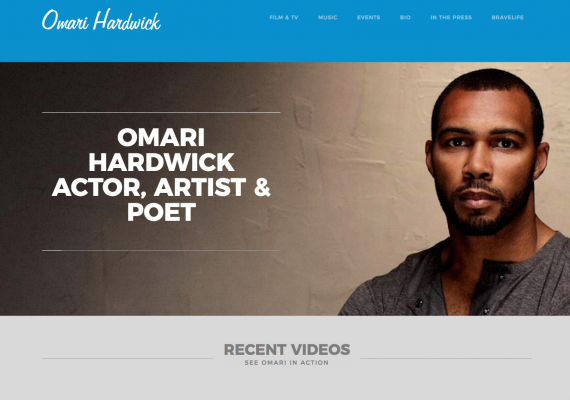Omari Hardwick/Sign for Delivery