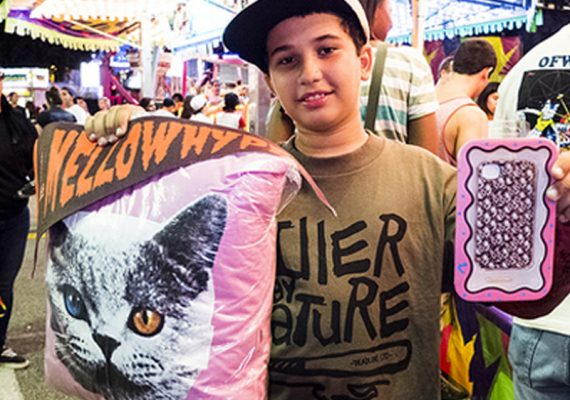 OFWGKTA Carnival: Misc Game Prizes (Pennants, Pillows, Phone Cases)