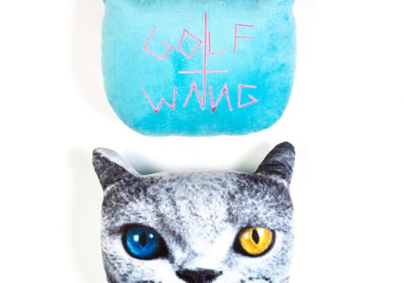 Golfwang: Shark Cat Pillow