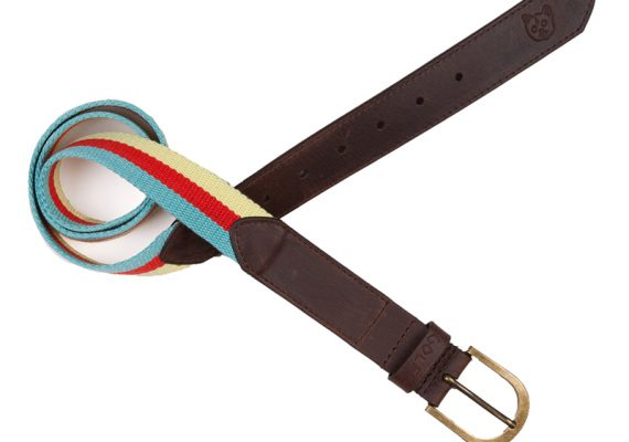Golfwang: Striped Belt