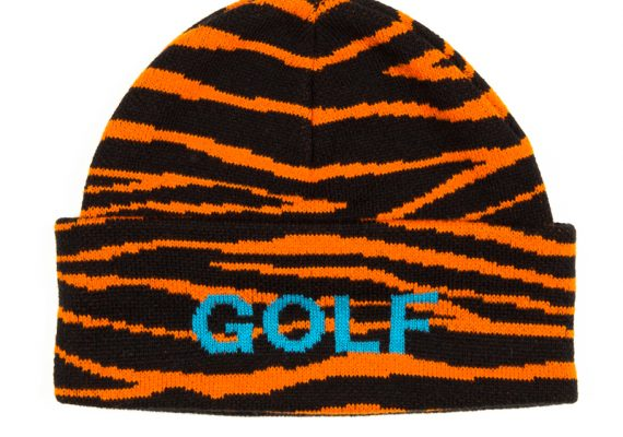 Golfwang: Tiger Striped Beanie