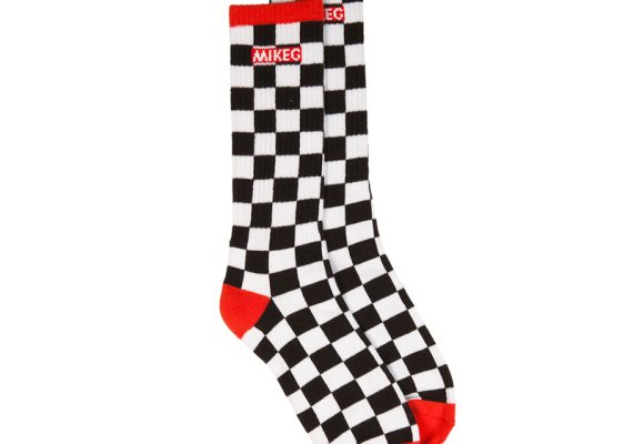 OFWGKTA: Mike G Checkerboard Pattern Socks