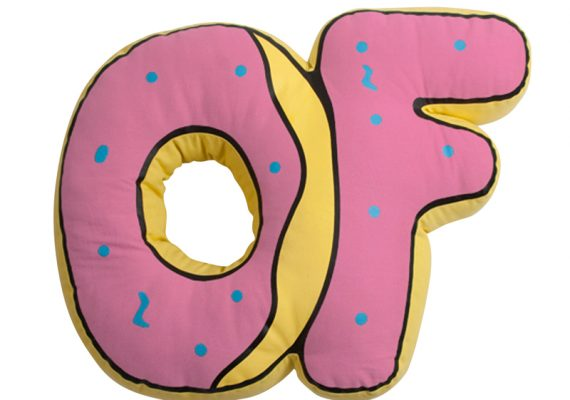 OFWGKTA: Odd Future Donut Logo Pillow