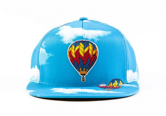 OFWGKTA: Odd Future Hot Air Balloon Snapback (Sublimated Hat with Patch)