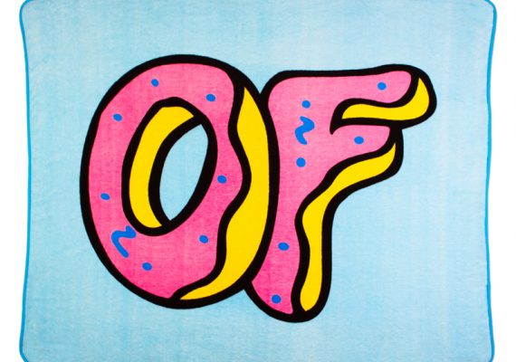OFWGKTA: OF Donut Logo Fleece Blanket
