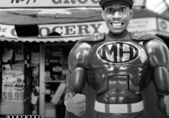Hodgy Beats 'Untitled EP' Cover