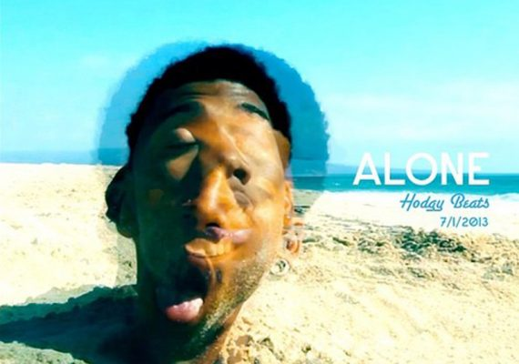 Hodgy Beats 'Alone' Single Cover