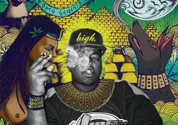 Odd Future Tape Vol. 2 Artist Booklet Pages (Domo Genesis)