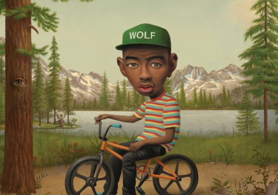 Tyler, The Creator WOLF Album Cover (2 of 3)