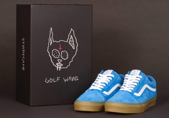 Golfwang x Vans Syndicate Old Skool Pro Skate Shoes