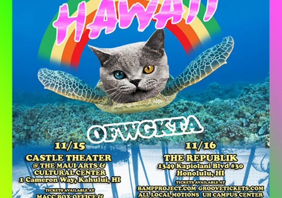OFWGKTA Flyer: Hawaii Pop Up Shop