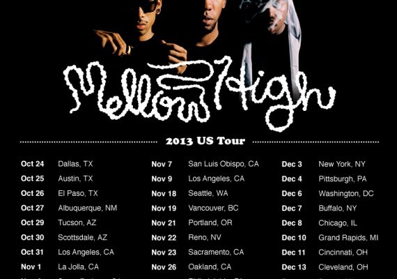 OFWGKTA Flyer: MellowHigh Tour Dates
