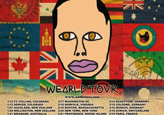 OFWGKTA Flyer: Earl Sweatshirt Wearld Tour