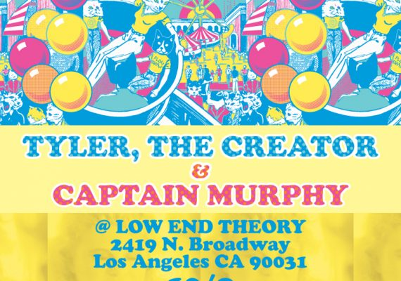 OFWGKTA Flyer: Carnival Preview Show at Low End Theory