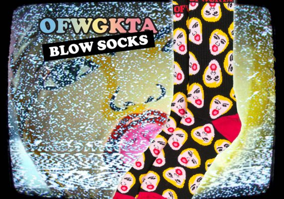 OFWGKTA Flyer: Left Brain Blow Socks for Zumiez