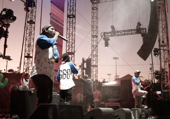 OFWGKTA Lifestyle Photo (Odd Future 's First Coachella Appearance)