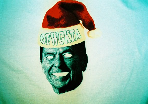 OFWGKTA Lifestyle Photo (Odd Future Xmas Concert Tee)