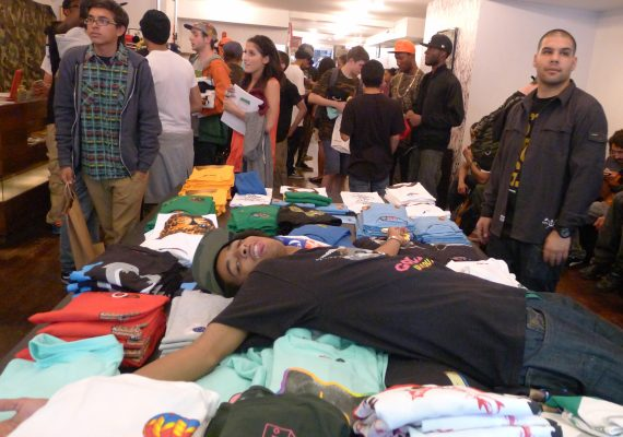 OFWGKTA Lifestyle Photo (NY Pop – Up Shop)
