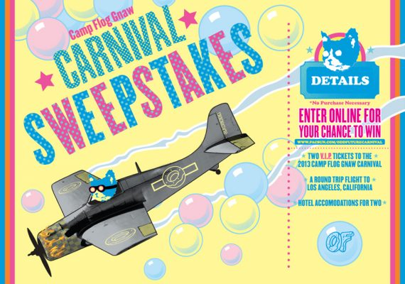 OFWGKTA Carnival Sweepstakes Poster for PacSun