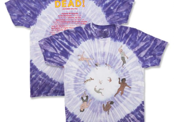 Flying Lotus You're Dead Tie Dye Tour Tee