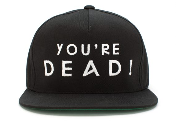 Flying Lotus You're Dead Snapback Hat