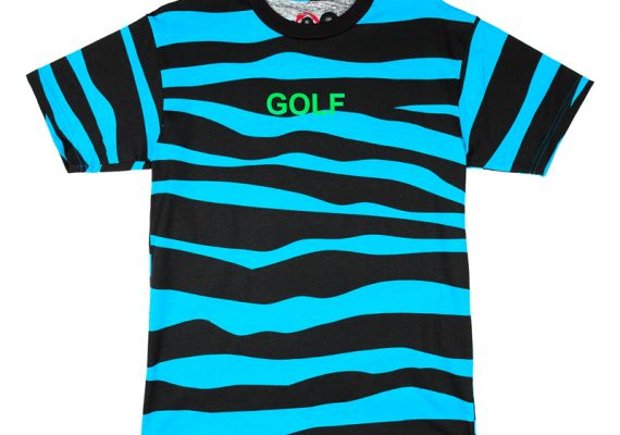 139489be Golfwang: Tiger Striped GOLF T-Shirt