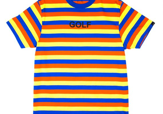 Golfwang: Striped GOLF T-Shirt