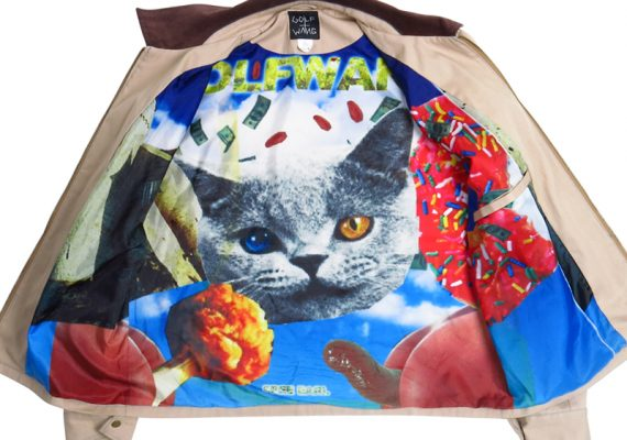 Golfwang: Flognaw GOLF Jacket (Interior Sublimated Lining)
