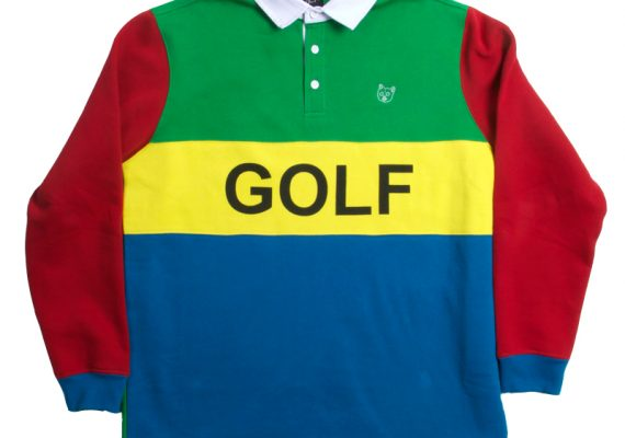 Golfwang: GOLF Long Sleeved Rugby Style Shirt