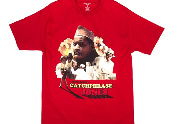 Loiter Squad: CatchPhrase Jones T-Shirt (Adult Swim)