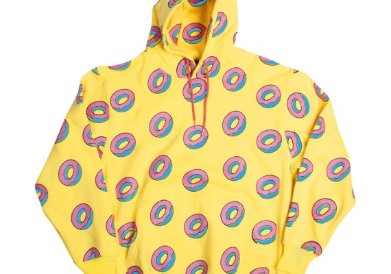 OFWGKTA: All Over Donut Hoodie