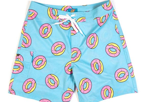 OFWGKTA: All Over Donut Boardshorts