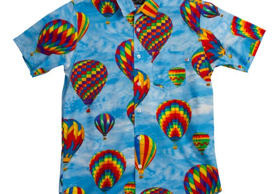 OFWGKTA: Hot Air Balloon Short Sleeved Woven Shirt