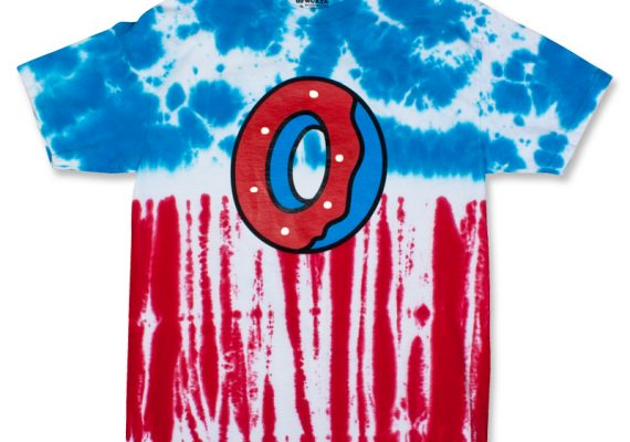 OFWGKTA: Single Donut Tie Dye T-Shirt