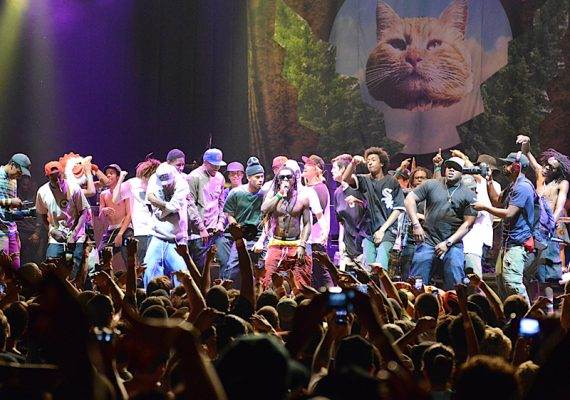 Camp Flog Gnaw Carnival 2012: Lil Wayne Performs with Odd Future