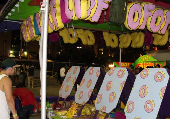 Camp Flog Gnaw Carnival 2012: Customized Carnival Games