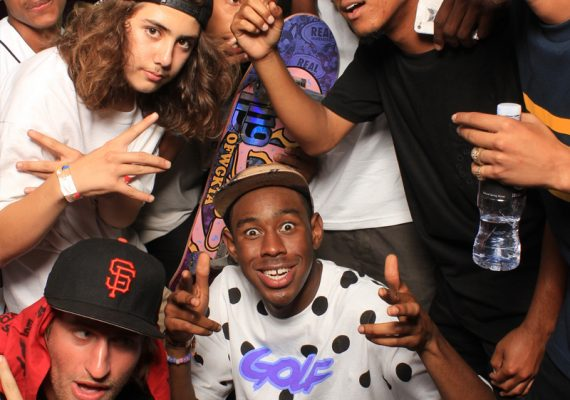 Camp Flog Gnaw Carnival 2012: Tyler, The Creator and Friends in the Tumblr Photo Booth