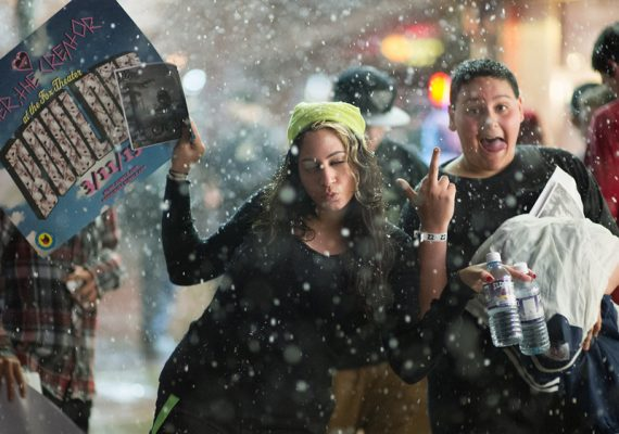 Odd Future: Boulder Fans Outside Concert